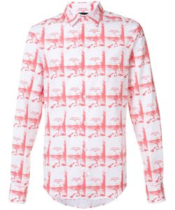 HOOD BY AIR | Printed Button Down Shirt Men