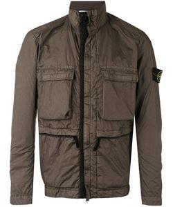 Stone Island | Pocket Front Rain Jacket Size Large Polyamide/Polyurethane