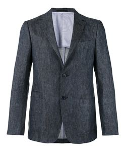 Z Zegna | Two-Button Chambray Jacket