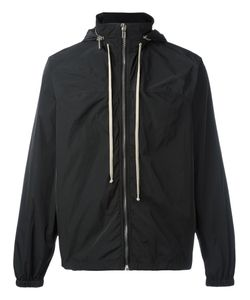 Rick Owens | Hooded Windbreaker 46 Polyester/Cupro