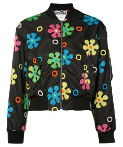 Moschino | Flower Power Bomber Jacket
