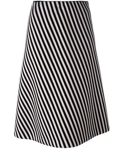 Christian Wijnants | Striped A-Line Skirt