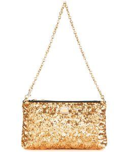 Dolce & Gabbana   Sequin Clutch Pvc