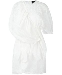 Simone Rocha | Broderie Anglaiise Draped Dress