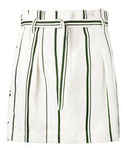 3.1 Phillip Lim | Stripe Pleated Mini Skirt