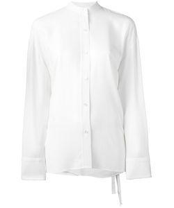 Helmut Lang | Рубашка С Запахом На Спине