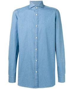 BORRELLI | Plain Shirt 42 Cotton
