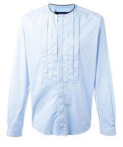 Christian Pellizzari   Pleated Bib Shirt 50 Cotton