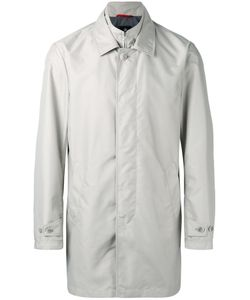 Fay | Double Collar Coat Large Polyester/Cotton