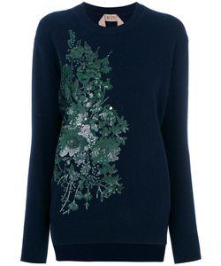 No21 | Sequin Embroidered Sweatshirt Women
