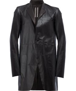 Rick Owens | Single-Breasted Coat Size 50 Leather