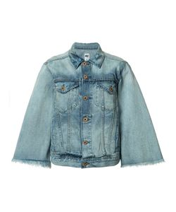 Nsf | Fla Sleeve Denim Jacket Small Cotton