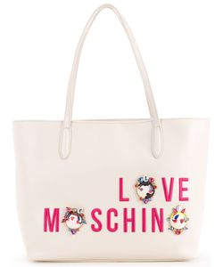 Love Moschino | Cartoon Print Shopper Bag