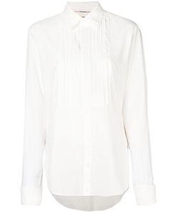 Burberry | Рубашка С Ребристым Воротником