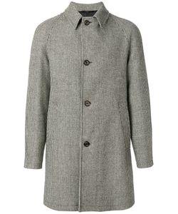 SEALUP | Check Buttoned Coat Men