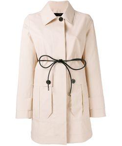 Moncler   Galette Coat 2 Cotton/Leather