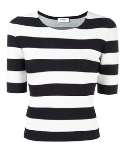 Akris Punto | Fitted Breton Stripe Top Size 38