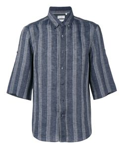 Brunello Cucinelli | Striped Short Sleeve Shirt