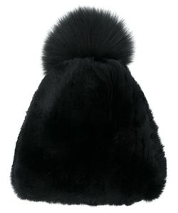 Liska | Fur Bobble Hat