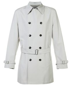 Kiton | Short Trenchcoat 50 Cotton/Spandex/Elastane