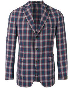 GABRIELE PASINI | Checked Blazer Size 46