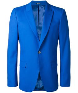 Alexander McQueen | One Button Blazer 52 Wool/Silk/Viscose
