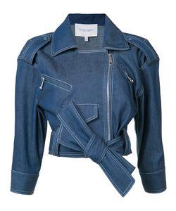 Carolina Herrera | Denim Biker Jacket 4 Cotton