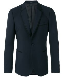 Paul Smith | Trim Detail Blazer 42 Mohair/Wool/Viscose