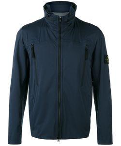 Stone Island | Iconic Branded Windbreaker Jacket Xl Polyester/Polyurethane