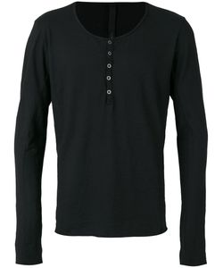 Poème Bohèmien | Poème Bohémien Buttoned Neck Longsleeved T-Shirt