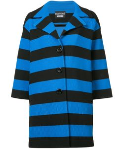BOUTIQUE MOSCHINO | Striped Coat Size
