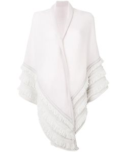 ANTONIA ZANDER | Shawl With Fringed Detailing Women