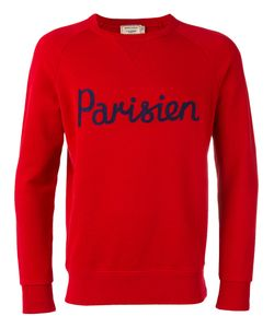 Maison Kitsune | Maison Kitsuné Parisien Print Sweatshirt Medium Cotton