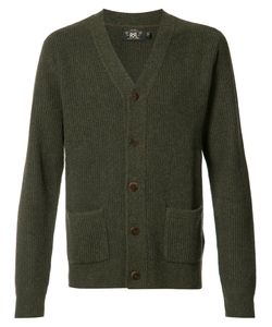RRL | Patch Pockets Buttoned Cardigan Medium Cashmere