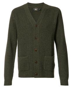 RRL | Patch Pockets Buttoned Cardigan Medium Cashmere