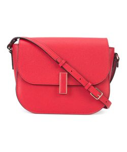 Valextra | Fold-Over Closure Crossbody Bag Leather