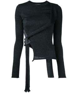 3.1 Phillip Lim | Side Tie Top Size Xs Polyamide/Polyester/Mohair/Metallized