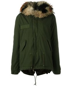 MR & MRS Italy | Fur-Lined Parka Small Cotton/Racoon