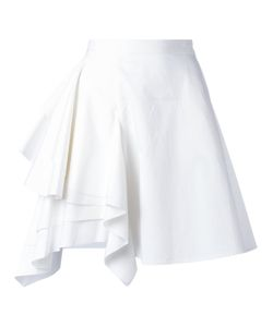 MSGM | Draped Asymmetric Skirt 42 Cotton