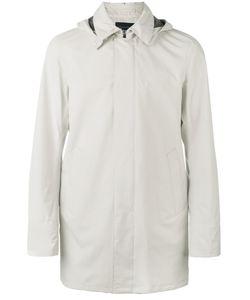 Herno | Hooded Raincoat 52 Polyester/Fluorofibra/Polyamide/Spandex/Elastane