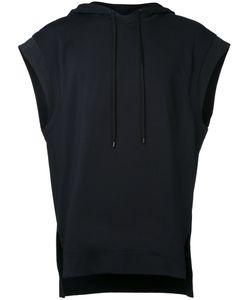 PUBLIC SCHOOL | Sleeveless Hoodie Large Nylon/Polyester/Spandex/Elastane/Rayon