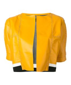 Aviù | Cropped Short Sleeve Jacket Size Medium