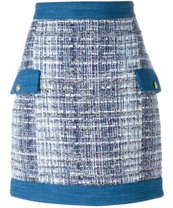Pierre Balmain | Tweed Skirt 36 Cotton/Acrylic/Polyamide/Viscose