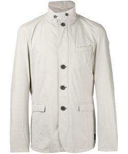 Herno | Buttoned Jacket 48 Polyester/Fluorofibra