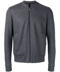 Harris Wharf London | Zipped Lightweight Jacket 48 Wool