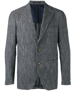 Tagliatore | Textured Two Button Blazer