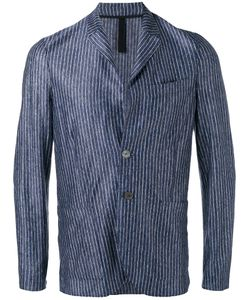 Harris Wharf London | Patch Pockets Striped Blazer
