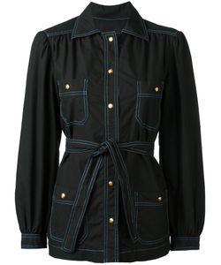 Celine Vintage | Céline Vintage Tie Waist Shirt Size