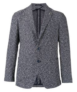 Tagliatore | Checked Blazer 46 Linen/Flax/Cupro/Cotton/Polyamide