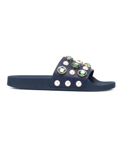 Tory Burch | Embellished Sliders Size 9
